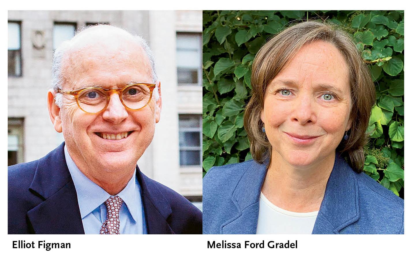 Elliot Figman and Melissa Ford Gradel