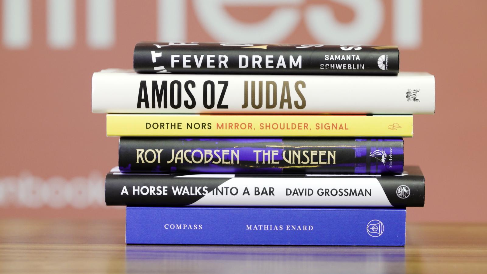 Man Booker International Prize 2017 Shortlist