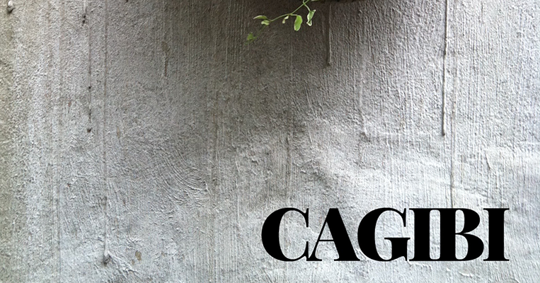 Cagibi title as it appears on an issue
