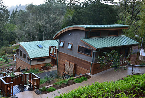 Sonoma County Writers Camp buildings