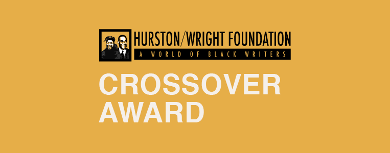 Hurston/Wright Foundation logo and text that says Crossover Award