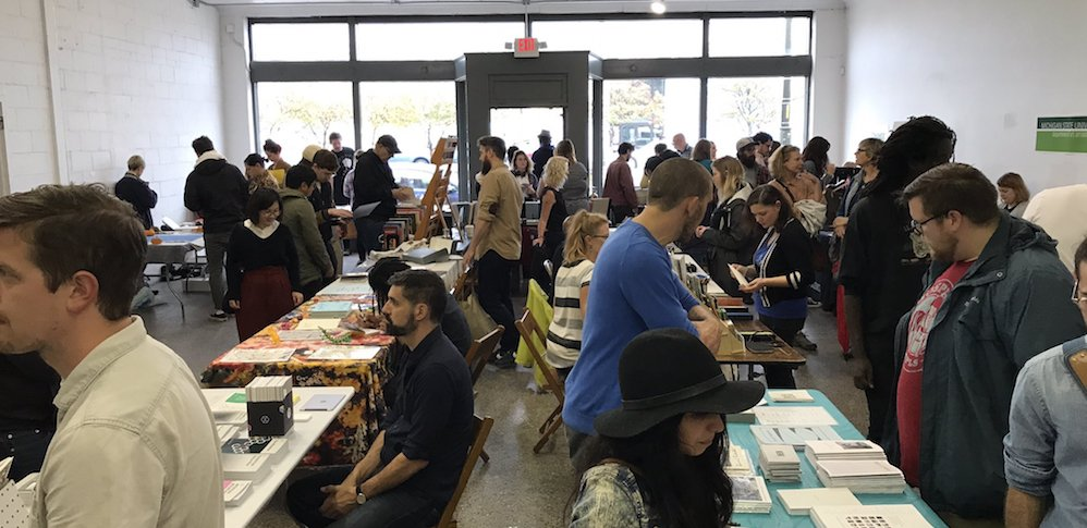 Detroit Art Book Fair at Trinosophes