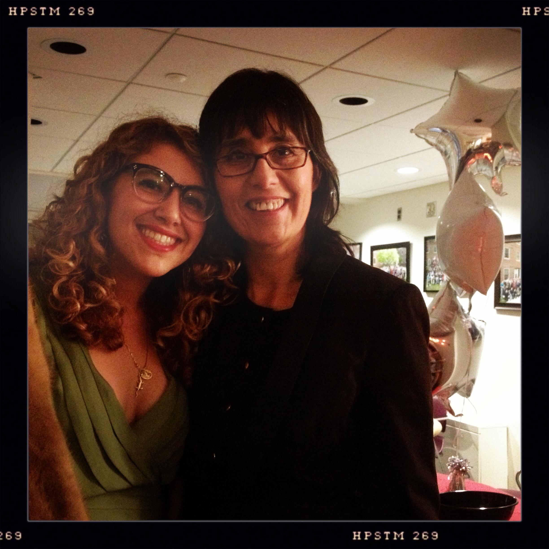 Jenna Brager and Vivianne Salgado