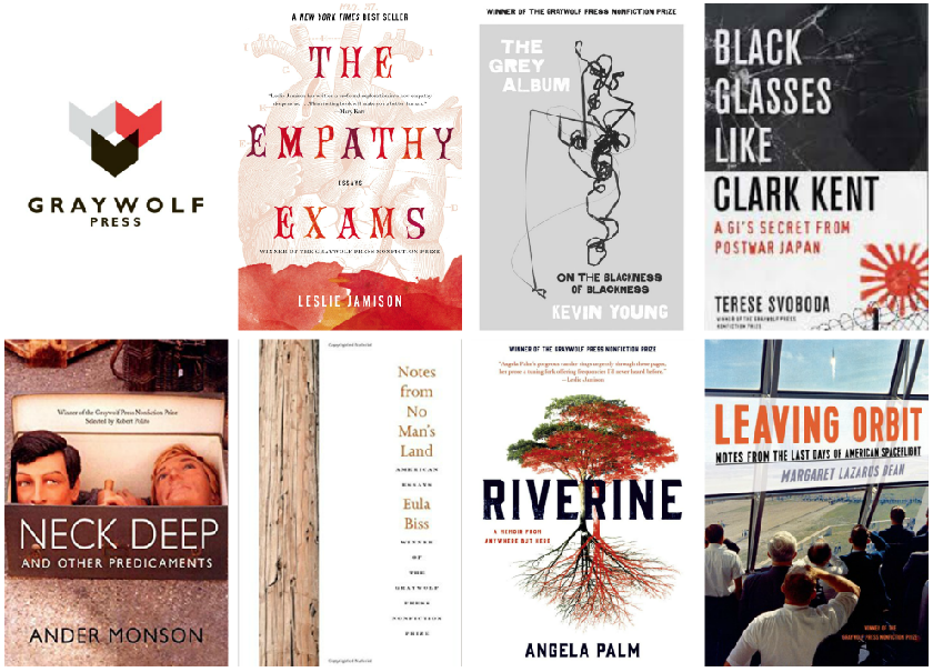 Graywolf Nonfiction Prizewinners