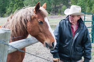 <p>Best-selling novelist James Lee Burke is larger than any of the genres critics use to label his work. Benjamin Percy talks with the literary giant at his Montana ranch.</p>