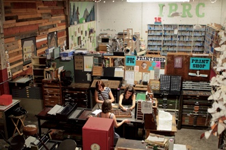 <p>Contributing editor Michael Bourne finds the art of letterpress printing alive and well at the Independent Publishing Resource Center in Portland, Oregon.</p>