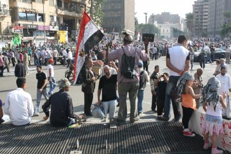 8. Tahrir Square Protest