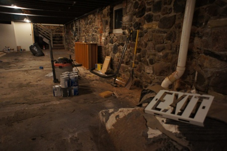 1. Basement of Literati Bookstore Pre-Renovation