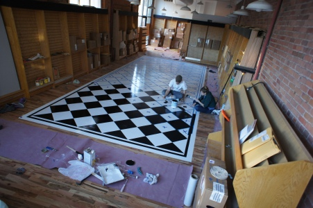 3. Painting the Floor