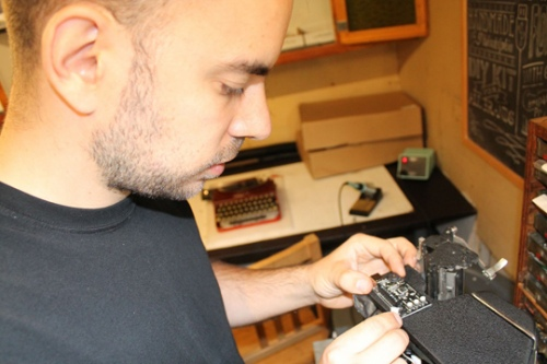 5. Attaching the Control Panel