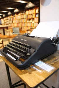 7. The Bookstore's Manual Typewriter