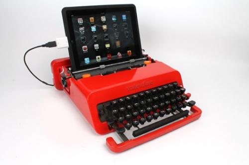 8. Olivetti USB Typewriter