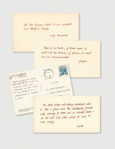 Gorey's Quotation Postcards