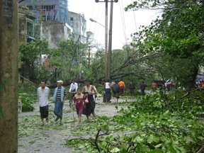 The Day After Cyclone Nargis