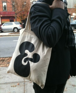 Ampersand Bag on the Street