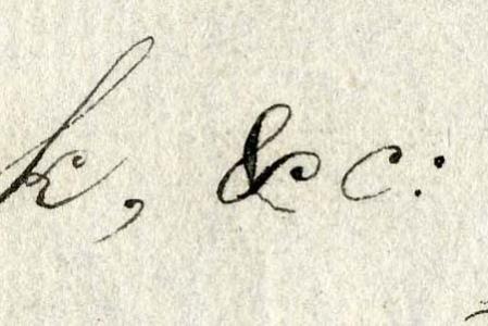 Ampersand in Script