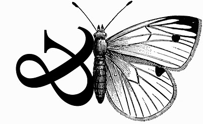 Ampersand Butterfly