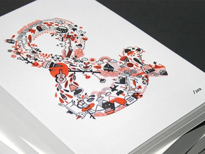 Illustrated Ampersand
