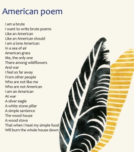 Poetry Shots: American Poem