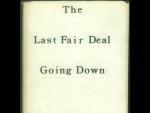 1. The Last Fair Deal Going Down
