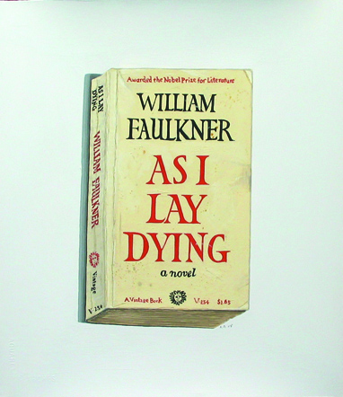 "an essay on william faulkners as i lay dying Directions: answer one of the following questions and write an essay about it 1 ""the aim of every artist is to arrest motion, which is life, by artificial means and hold it fixed so that a hundred years later, when a stranger looks at it, it moves again since it is life."