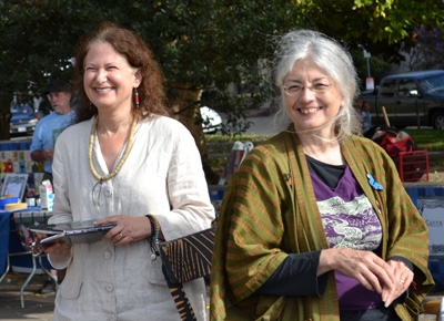 Jane Hirshfield and Joyce Jenkins