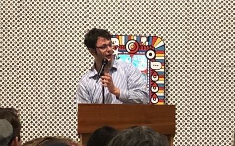 Ilya Kaminsky at Gulf Coast reading series