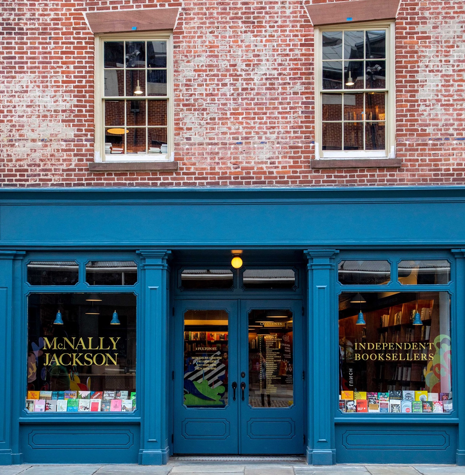 McNally Jackson Books Seaport