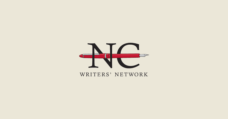 North Carolina Writers' Network logo, featuring the network's initials and an image of a fountain pen