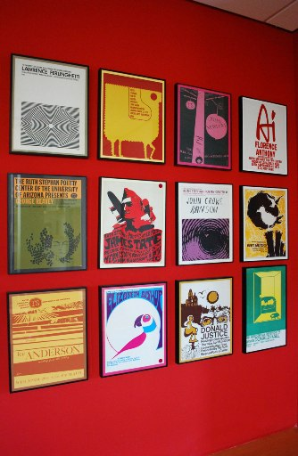 University of Arizona Poetry Center Reading Posters