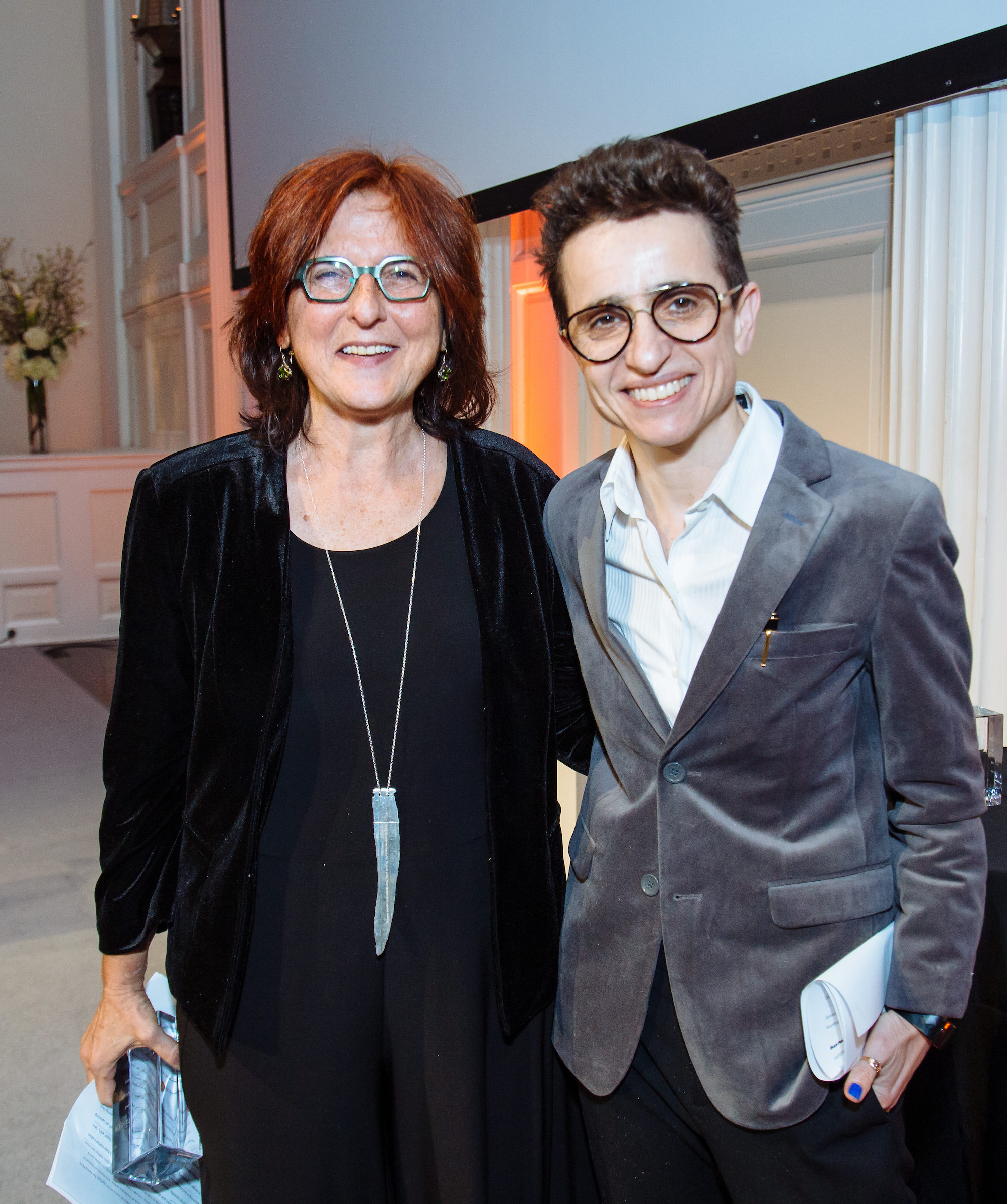 Rebecca Saletan and Masha Gessen