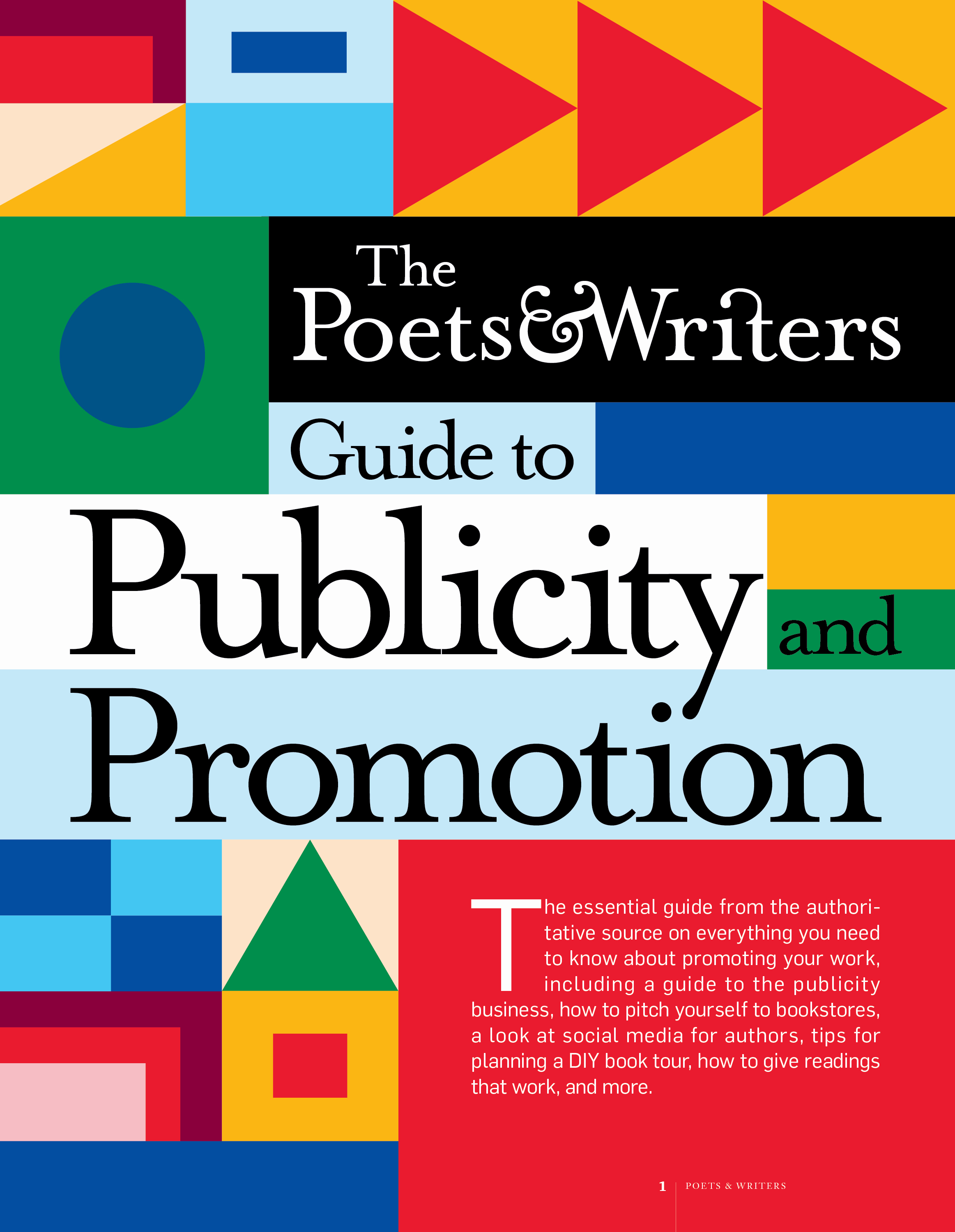 The Poets & Writers Guide to Publicity and Promotion