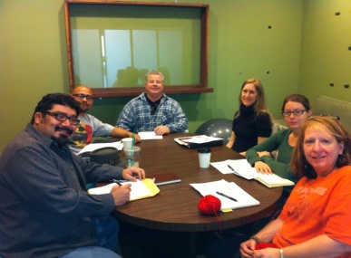 Michael Medrano and the Random Writers Workshop