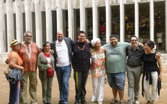 La Cisita's curatorial team (in part)