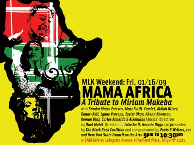 mama africa flyer
