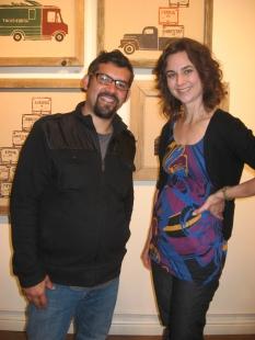 Boris Gaviria and Alma Garcia