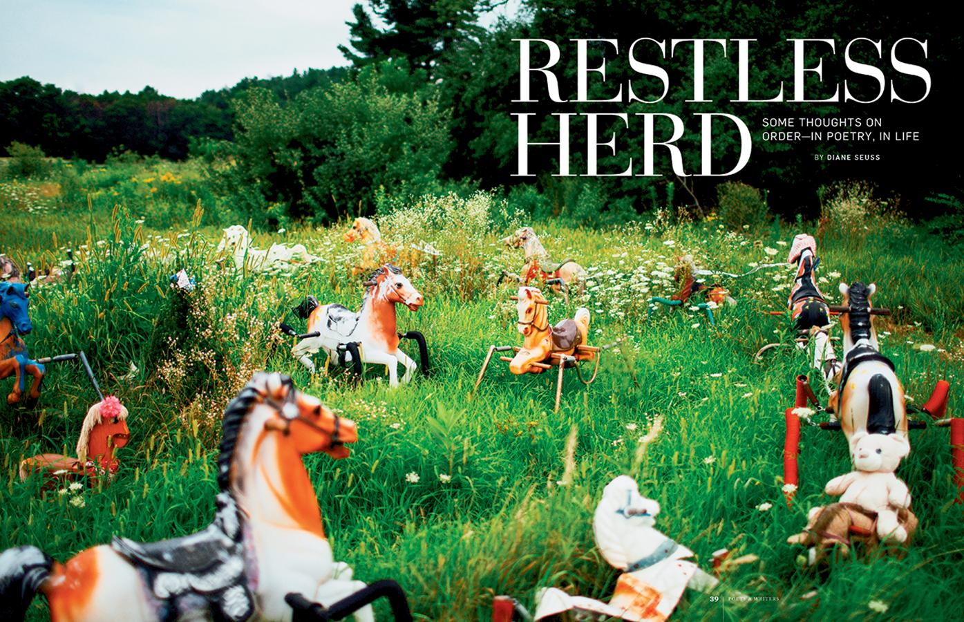 Restless Herd magazine page