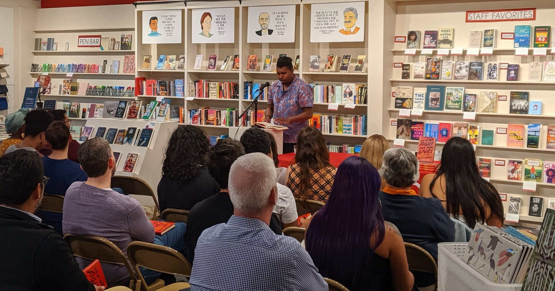 Saeed Jones at Brazos Bookstore