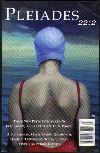Magazine Cover - Title in white lettering over illustration of the back of a female swimmer.