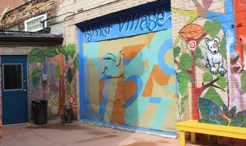 Artist Village Detroit front door