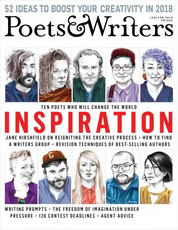 Grant Faulkner Poets & Writers Inspiration Issue