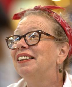 Writer and comics artist Lynda Barry