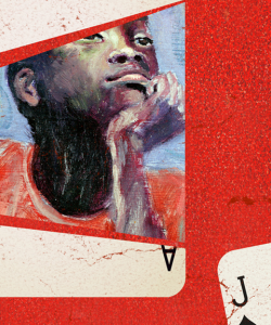 Close-up of the cover of Finna by Nate Marshall