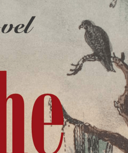 Close-up of the cover of LaTanya McQueen's When the Reckoning Comes. An illustrated solitary bird is perched on a branch against a dull-colored sky. The title text, rendered in a blood-red font, is partially visible.