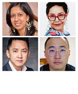 Namrata Poddar, Felicia Rose Chavez, Viet Thanh Nguyen, and Matthew Salesses