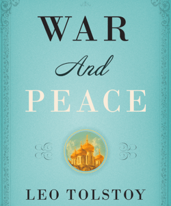 The cover of the 2008 Vintage Classics edition of War and Peace