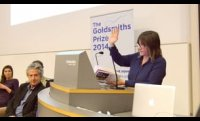Goldsmiths Prize 2014: Ali Smith reading from How to be Both