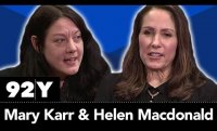 Mary Karr and Helen Macdonald