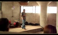 Nate Pritts reading at Silo City 07 14 13