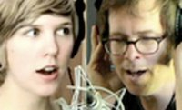 Ben Folds, Nick Hornby, & Pomplamoose VideoSong!!!!